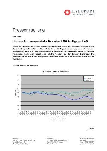 Pressemitteilung - Hypoport AG