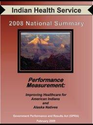 GPRA FY08 Performance Report Executive Summary