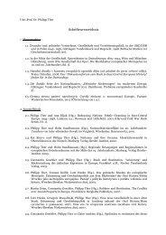 Schriftenverzeichnis - Institut für Osteuropäische Geschichte