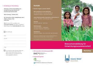 der Flyer zur Veranstaltung mit weiteren Informationen - IHV Köln ...