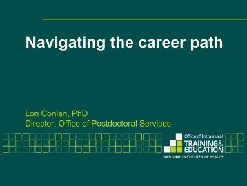 Navigating the career path - Howard University, Graduate School