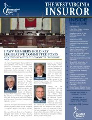 Volume 22, Issue 3 - Independent Insurance Agent
