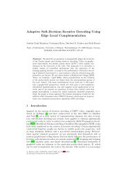 Adaptive Soft-Decision Iterative Decoding Using Edge Local ...