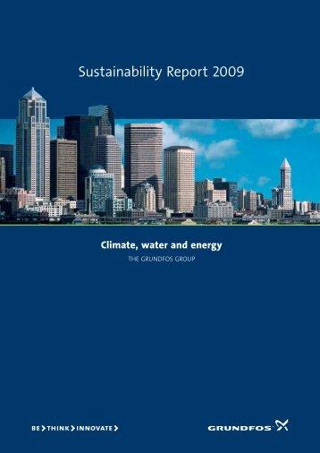 Sustainability Report 2009 - Grundfos