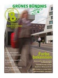Farbe bekennen - Grüne Partei Basel-Stadt