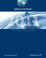 Annual Statement 2011 - Grundfos