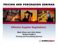 Effective Tools for Better Supplier Quotes - Country & Industry ...