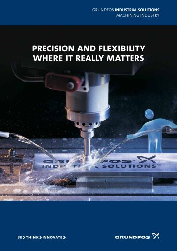 precision and flexibility where it really matters - Grundfos