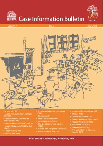 Case Information e-Bulletin, Vol. 2, No. 6,June 2011 - Indian Institute ...
