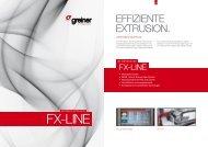 FX-LINE Folder - Greiner Extrusions Technik