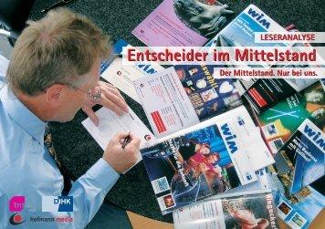 Entscheider im Mittelstand - IHK Nürnberg für Mittelfranken