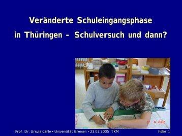 Staatliche Grundschule - Universität Bremen