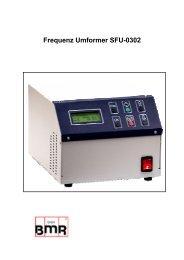 Frequenz Umformer SFU-0302 - BMR Gmbh