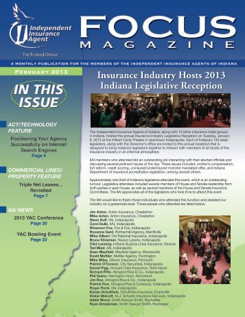 February 2013 - Independent Insurance Agent