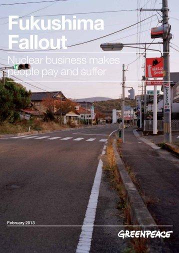 Report: Fukushima Fallout | Greenpeace