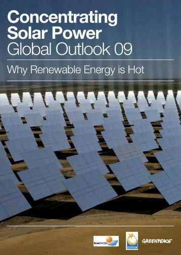 Concentrating Solar Power Global Outlook 09 - Greenpeace