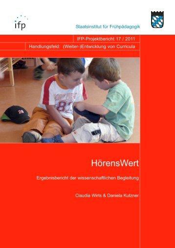 HörensWert - IFP - Bayern