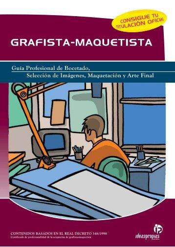 GRAFISTA-MAQUETISTA - Ideaspropias Editorial