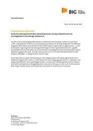 Projektpartner für Entwicklung Gerichtsgebäude Korneuburg gefunden