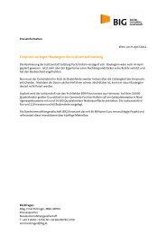 Einspruch verzögert Baubeginn der Justizanstalt Salzburg - BIG