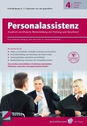 Personalassistenz - IIR Deutschland GmbH