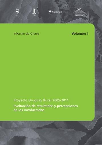 Proyecto Uruguay Rural – Informe final - IFAD