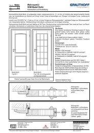 2.2 Wohnraumtür HGM Modell Berlin - Grauthoff
