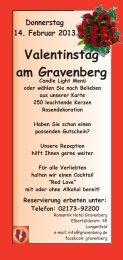 Valentinstag Flyer2013.cdr - Romantik Hotel Gravenberg