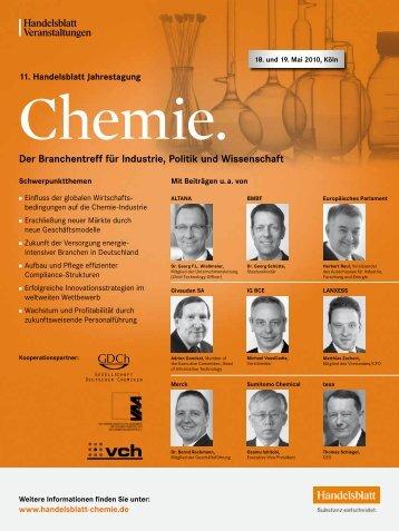 Der Branchentreff für Industrie, Politik und Wissenschaft