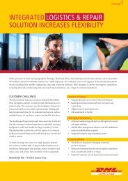 Technical Services Telecom Operator Case Study - DHL