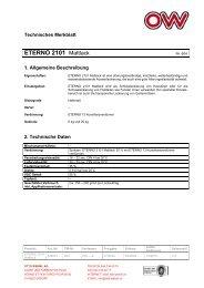 ETERNO 2101 Mattlack - bei FEYCO