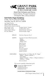 Program Notes PDF - The Grant Park Music Festival