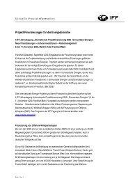 Download des PDF-Dokuments - IIR Deutschland GmbH