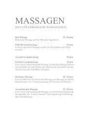 Red Massage - Hotel Rote Wand