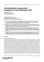 Schoellerbank Analysebrief Nr. 243 (pdf, 99 KByte)