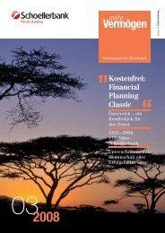 Vermögen 2008 - Schoellerbank AG