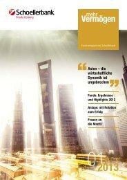 Ausgabe 1/2013 - Schoellerbank