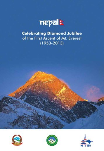 Celebrating Diamond Jubilee of the First Ascent of Mt. Everest (1953 ...