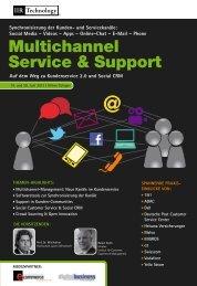 Multichannel Service & Support - IIR Deutschland GmbH