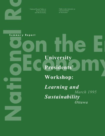 Proceedings of the Conference on University Action for Sustainable ...