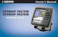 GPSMAP 392/398/492/498 Owner's Manual - Garmin