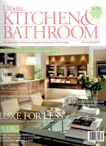 The only kitchen and bathroom magazine dedicated to