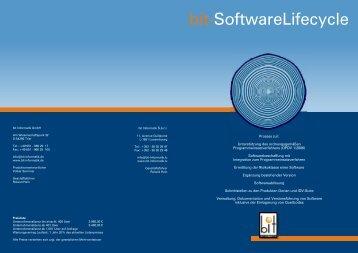 bit-SoftwareLifecycle - Bit Informatik GmbH