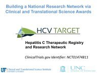 HCV-TARGET Hepatitis C Therapeutic Registry and ... - IHL Press