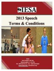 speech - Illinois Elementary School Association