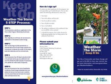 Download Printable Brochure - City of Greenville