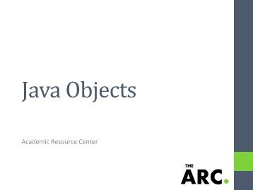 Java Objects