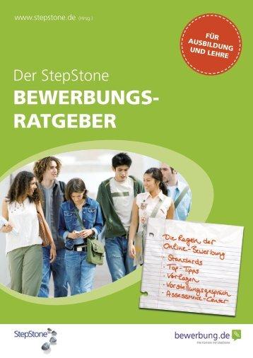 BEWERBUNGS- RATGEBER - Stepstone