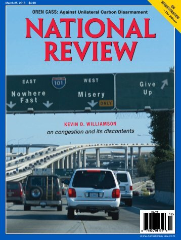 on congestion and its discontents - National Review Online