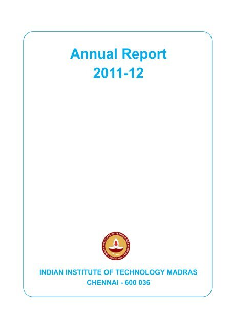 2011 - Indian Institute of Technology Madras